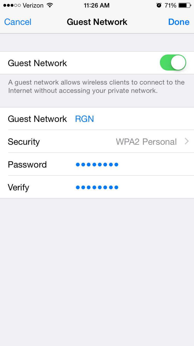 how to create a mobile network