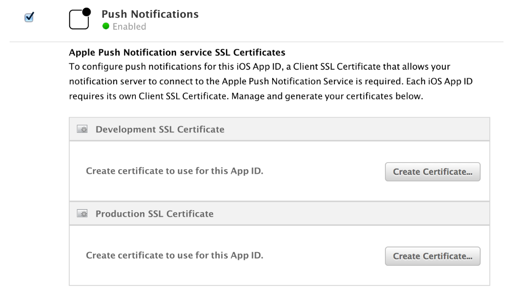 iOS Push Notifications - Version 3 Docs
