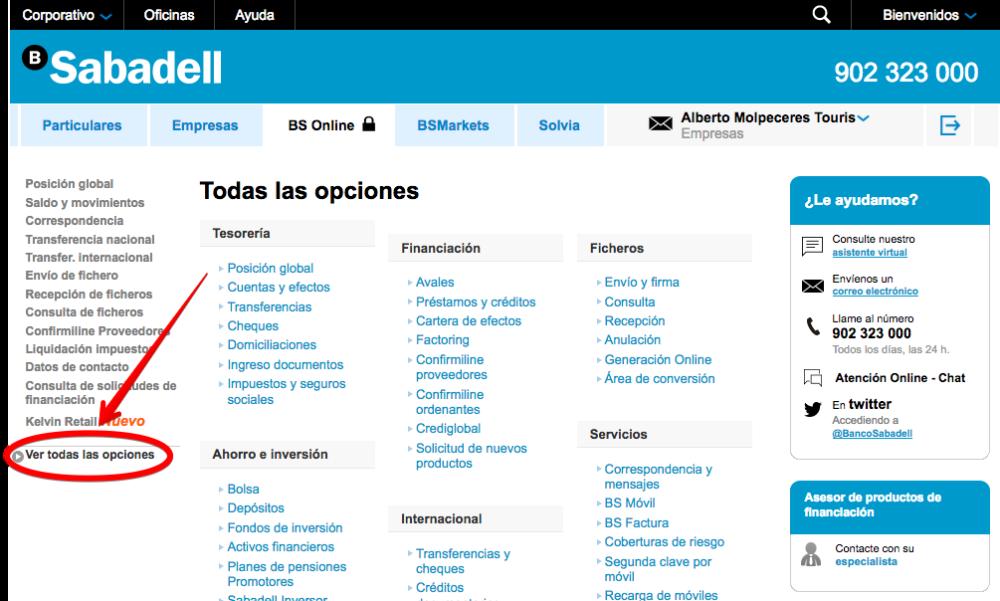 Sabadell empresas on line latest con mxima discrecin pero - Sabadell on line ...