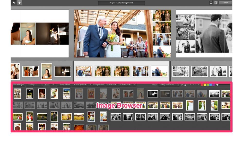 Image Browser - Pixellu SmartAlbums 1