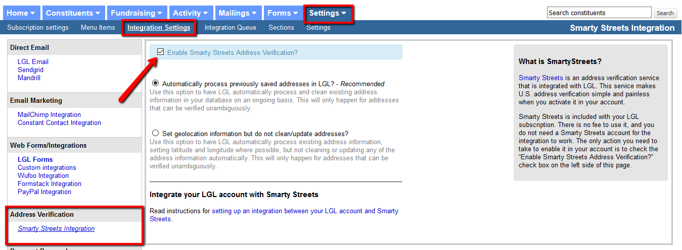 Perform A Radius Search Little Green Light Knowledge Base - Smartystreets