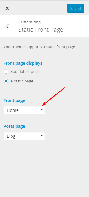 How to Set Up the Home Page for IsleMag - ThemeIsle Docs Frontpage Page on