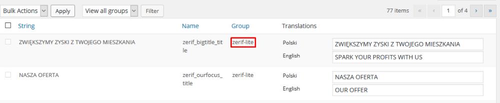如何翻译Zerif(或任何其他翻译就绪的主题)