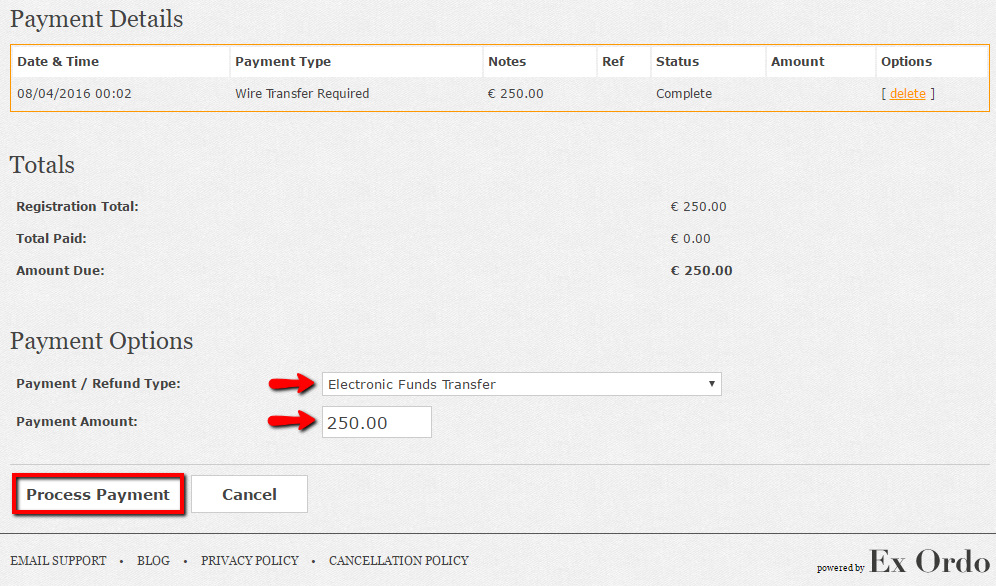 Sample Tax Invoice Marking An Invoice As Paid  Ex Ordo Knowledge Base Goods Invoice with Free Invoice Printable Word When Ready Click Process Payment To Mark That Payment Against The Invoice  If The Invoice Balance And Payment Values Match Then The Users Invoice  Will Be  Factoring Of Invoices