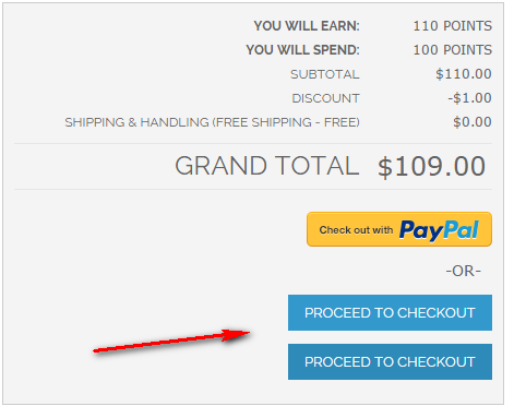 Firecheckout: Proceed to Checkout button display twice after cart ...