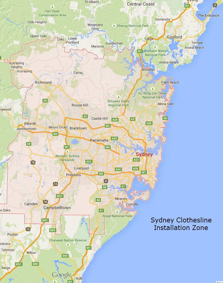 clothesline supply and installation sydney nsw