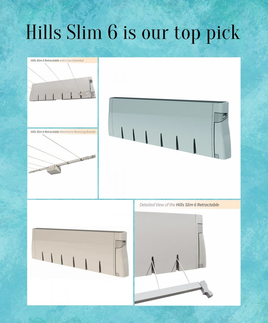Hills Slim 6 Retracting Clotheslines