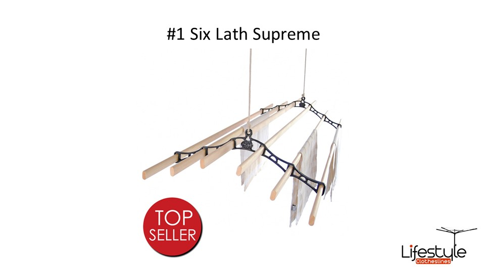 best ceiling clotheslines for small spaces