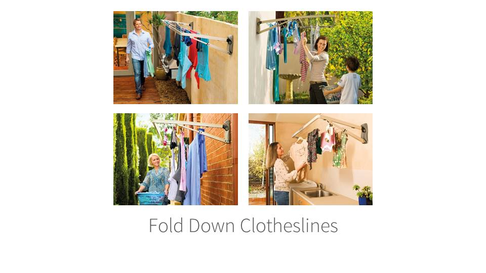 Hills Foldown Clothesline Installation Gold Coast QLD