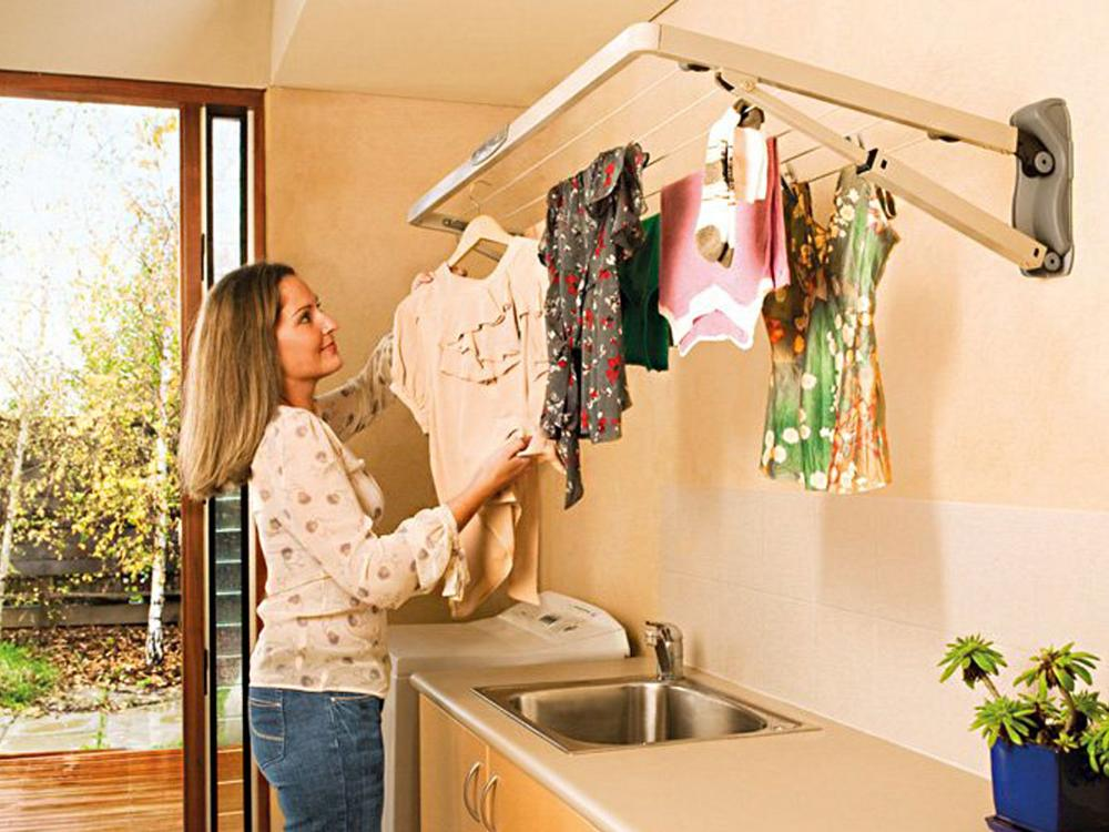 Indoor Clothesline - Hills Supa Fold Mini Clothesline