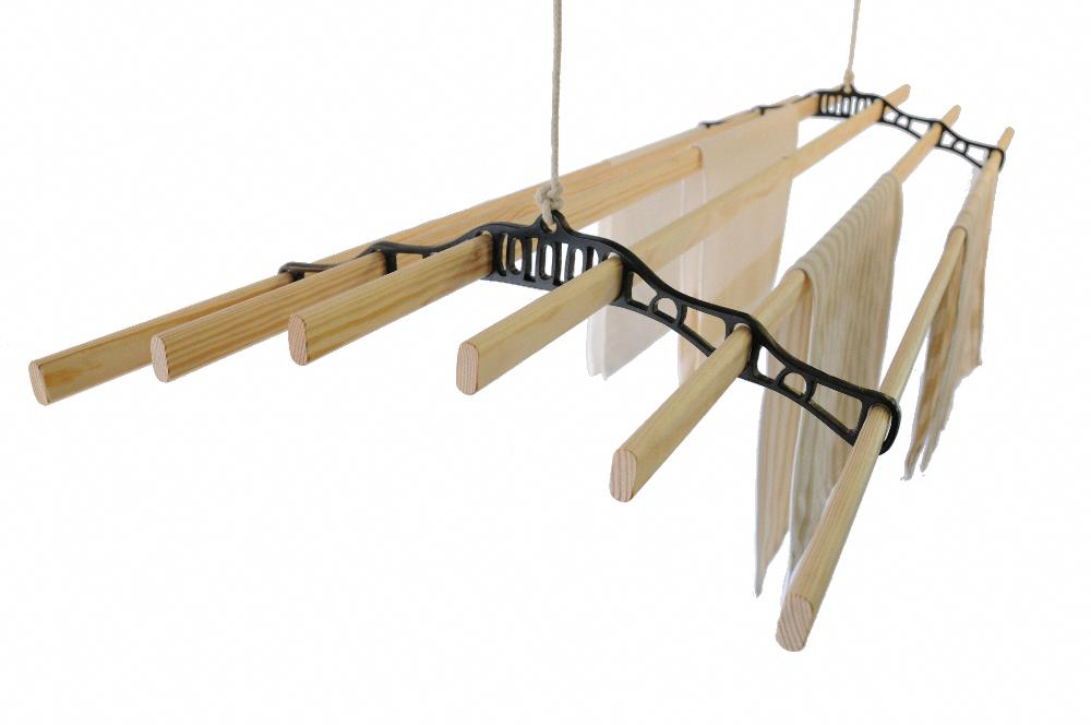 Indoor Clothesline - Six Lath Supreme Ceiling Airer