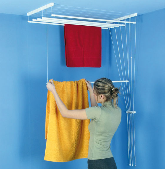 Indoor Clothesline - Airaus Ceiling Mounted Clothes Airer