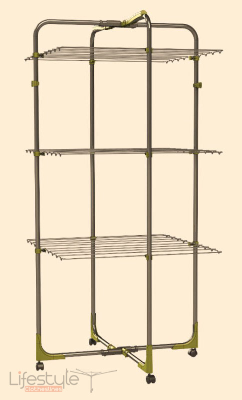 Indoor Clothesline - Hills Finesse Trio Airer