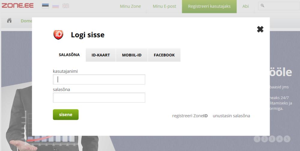 Domeeni (veebiaadressi) sidumine e-poega