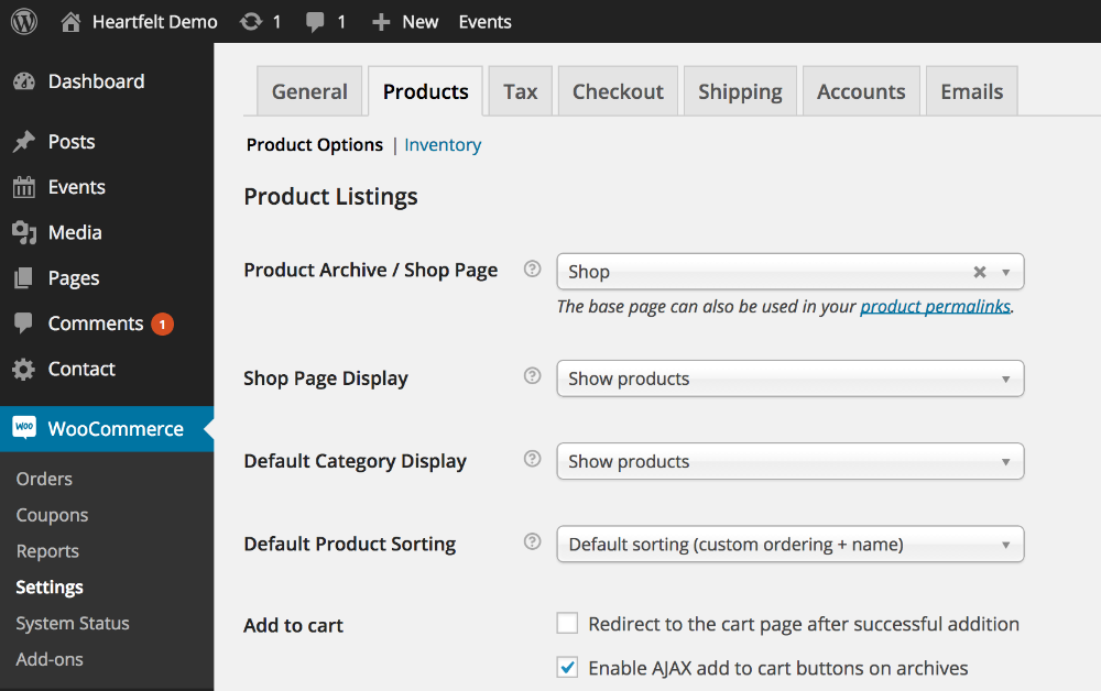Gateway Plus: Creating the WooCommerce Shop Page - WordPress Theme ...