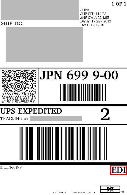 Setup UPS Paperless Invoice EDI Postmen - Edi invoice