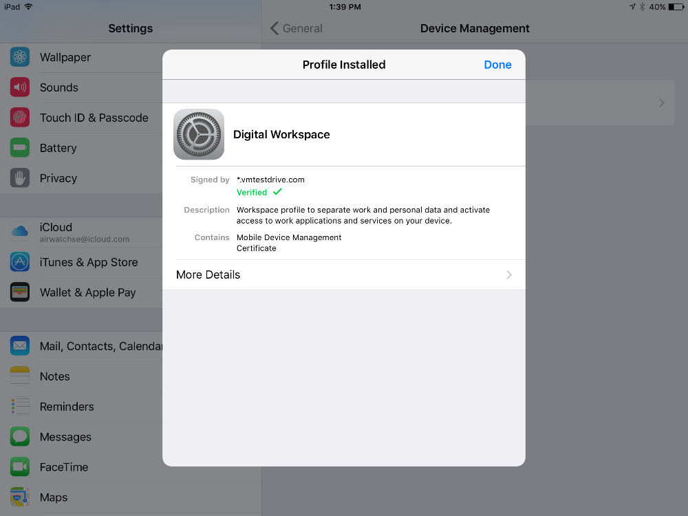 Ios airwatch enrolling an ios device in the corporate owned now you will be redirected to be able to open the airwatch agent click on open yadclub Gallery
