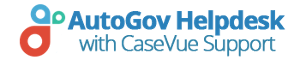 AutoGov Helpdesk with CaseVue Support