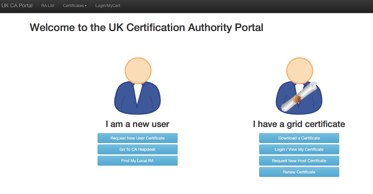 Setting up certificates jasmin help docs 1 certification authority portal xflitez Images
