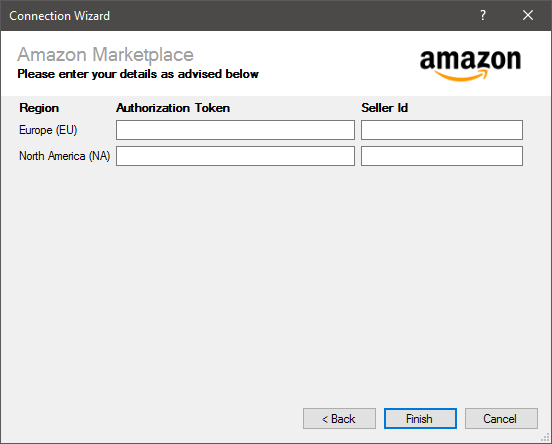 Amazon Marketplace Connection
