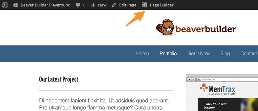 Start Page Builder - Beaver Builder Knowledge Base