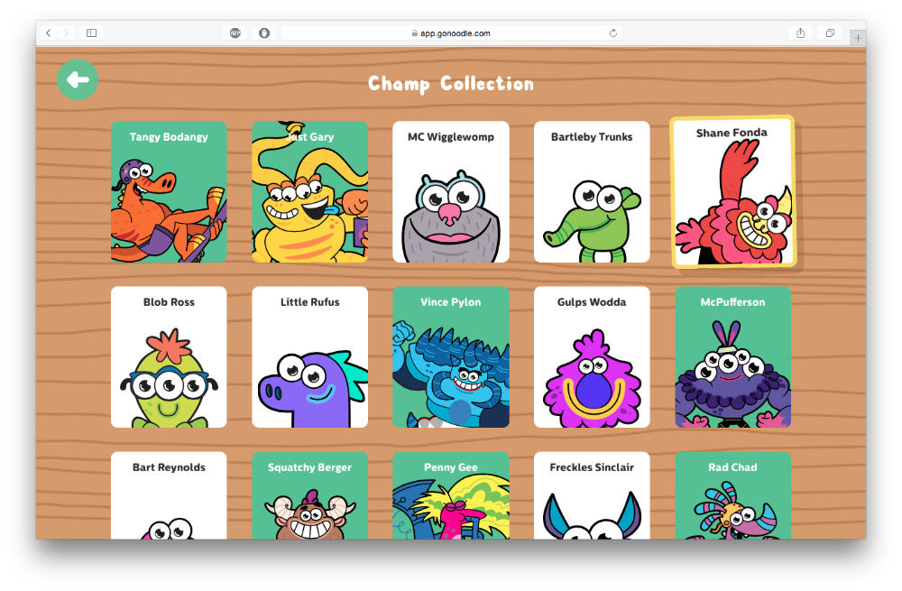 gonoodle monsters coloring pages - photo#29