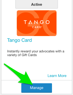 Setting Up Your Tango Card Integration - AdvocateHub Knowledge Base