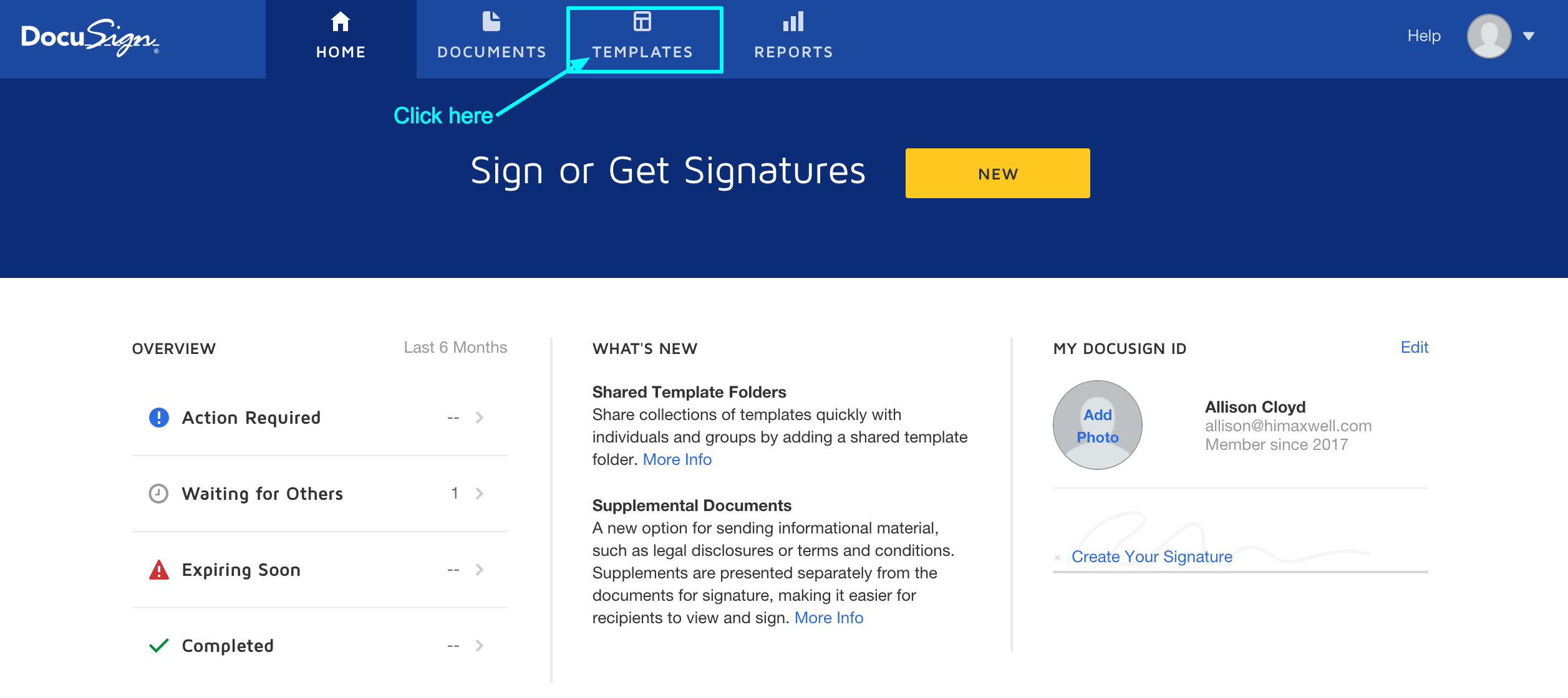 DocuSign & Maxwell - Maxwell Knowledge Base