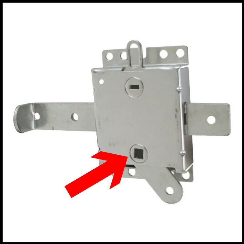 To lock the door from the outside. How to lock and unlock a garage door from outside    Ideal