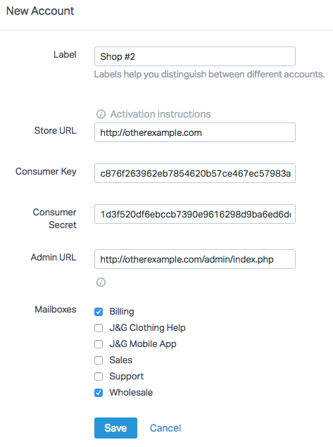 Magento REST API - Help Scout Support