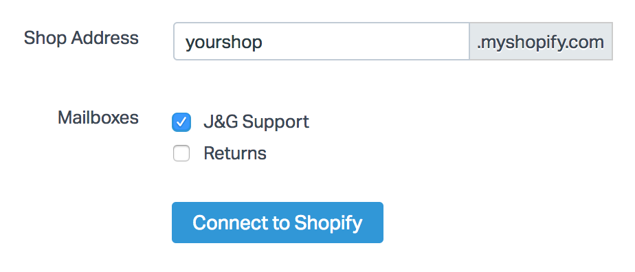 Shopify - Help Scout Support