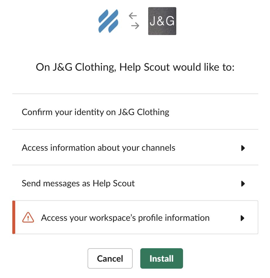 Slack - Help Scout Support