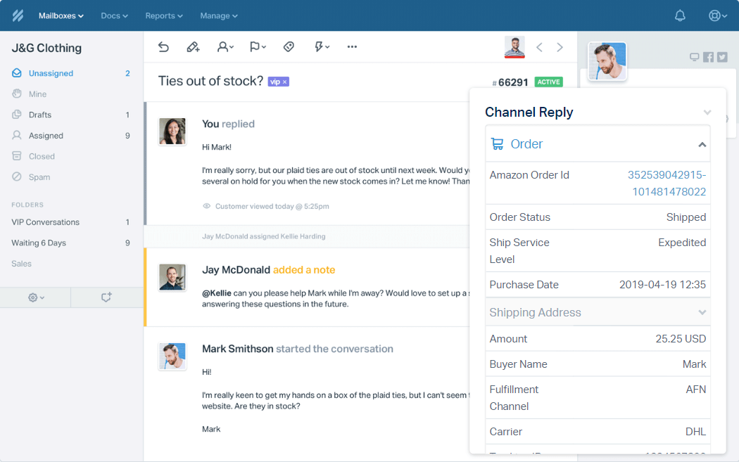 eBay and Amazon with ChannelReply - Help Scout Support