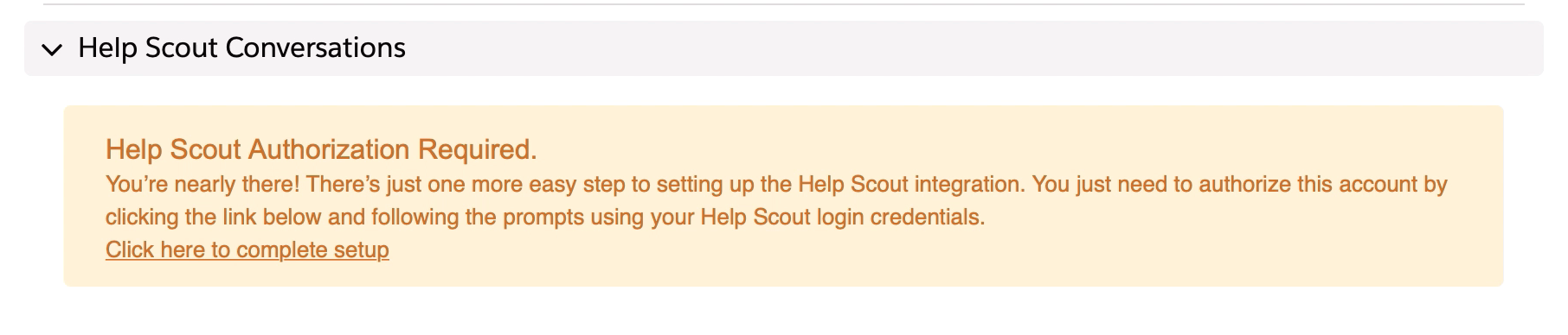 Salesforce - Help Scout Support