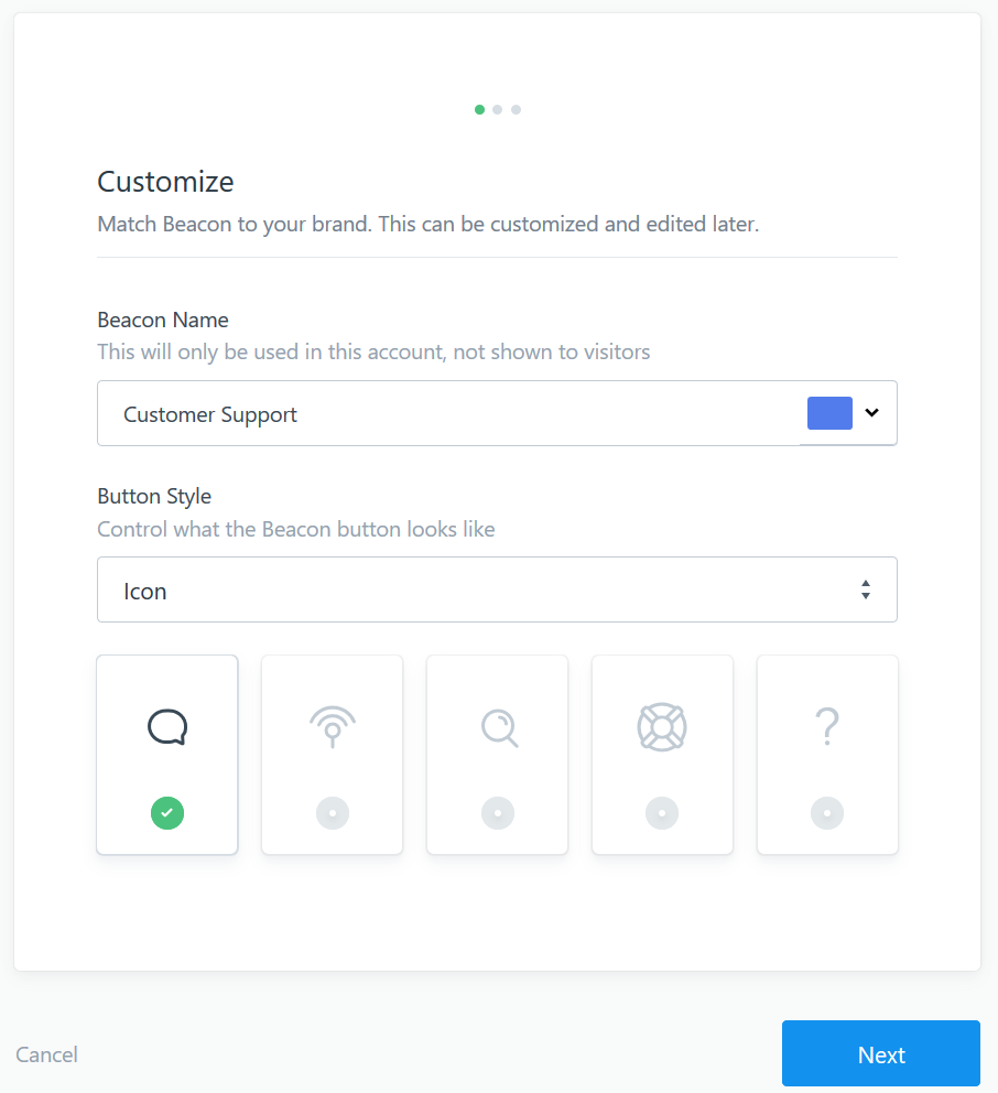 Helpscout Beacon 2.0 beacon jumpstart guide - help scout support