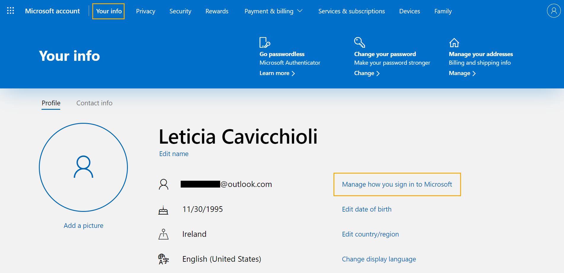 How to set <b>up</b> an alias <b>on</b> Outlook - <b>OnePageCRM</b> Help Center