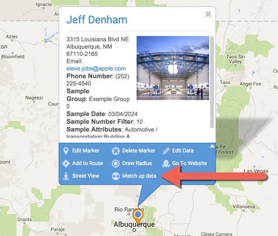 Labeling Your Markers Maptive Answer Center - Map my data