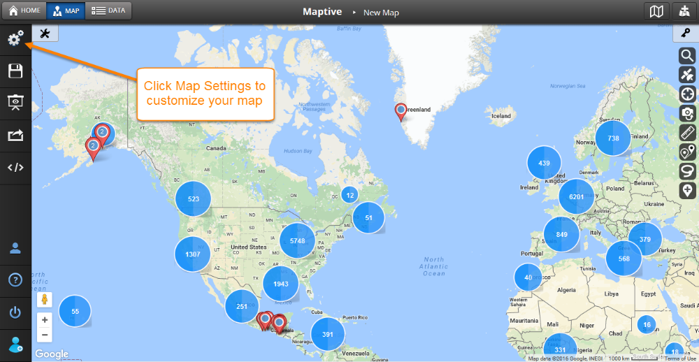 Maptive Quickstart Guide - Maptive Answer Center