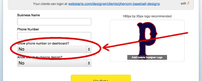 Showing Your Phone Number To Your Clients Webstarts Knowledge Base