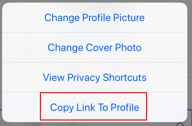 How to copy your Facebook profile link - VarageSale Knowledge Base