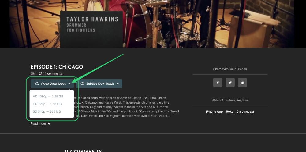 cara download video di waaw.tv