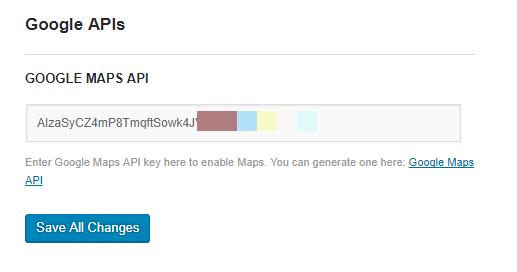 Google Maps API - UX Themes Docs