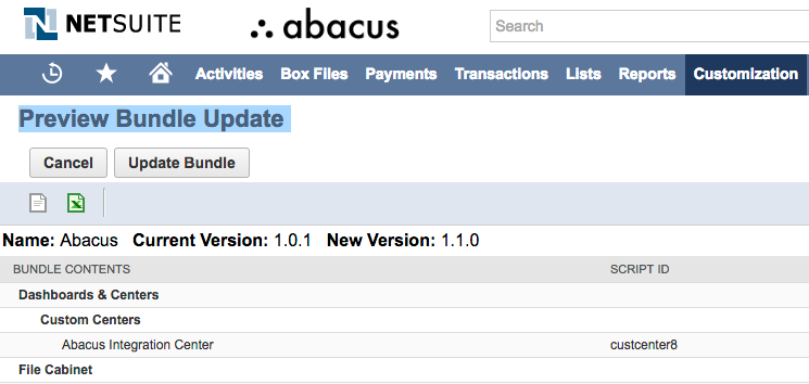 How to connect the NetSuite Accounting software to Abacus - Abacus