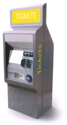 UK ticket collection machines