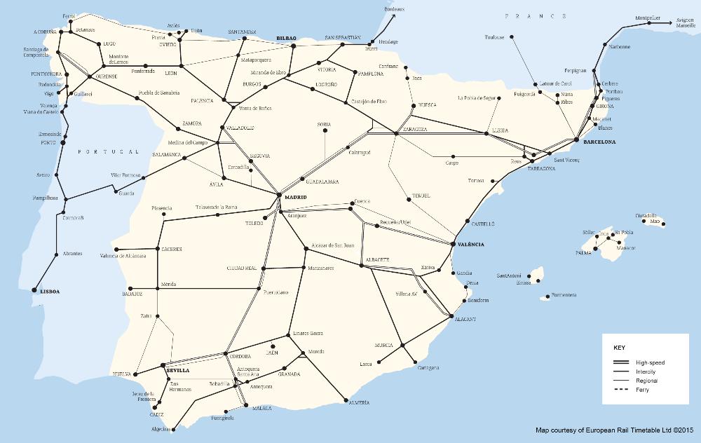 European rail network maps - Rail Europe Help