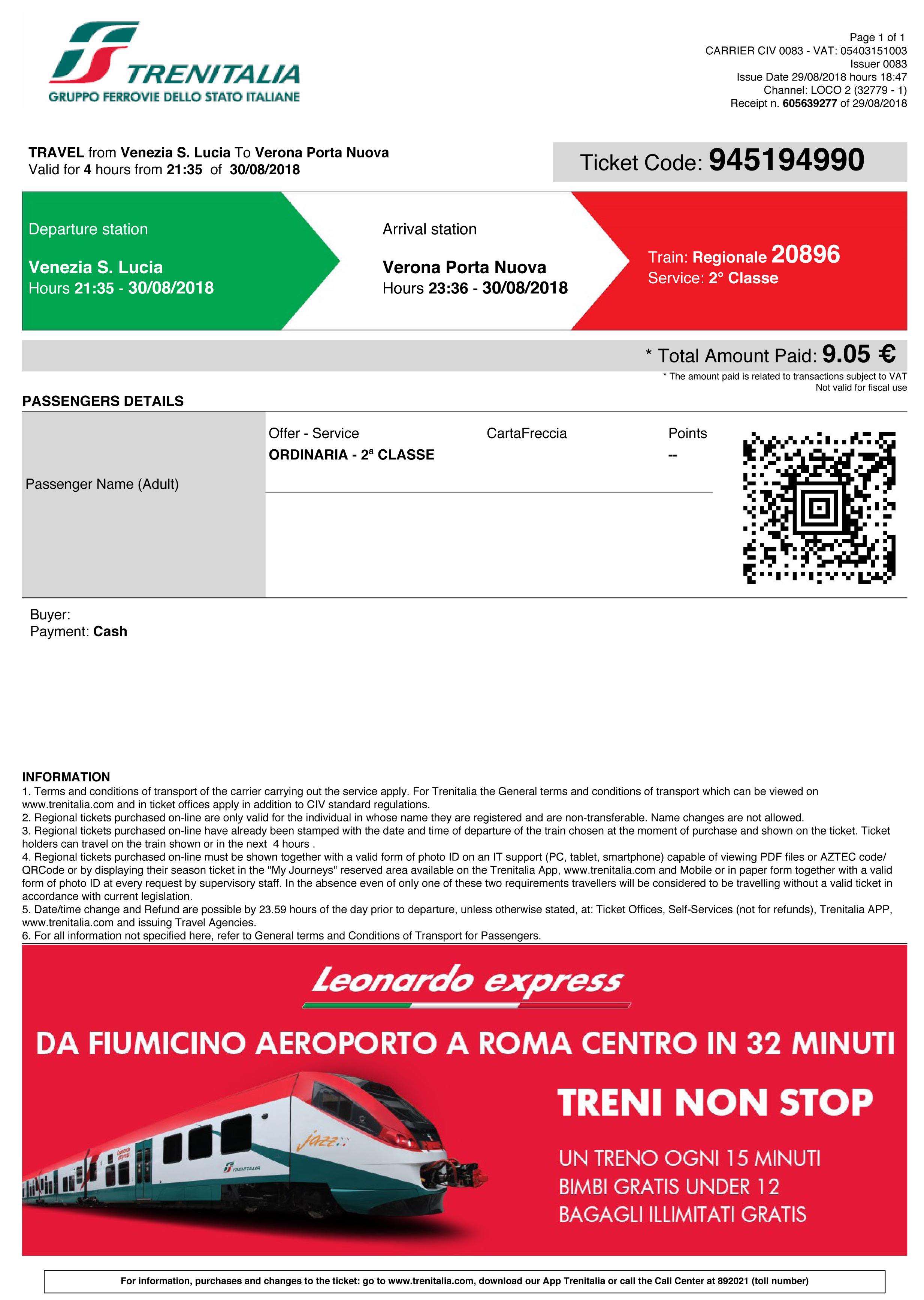 Vat On Train Tickets >> Using Print At Home Train Tickets Rail Europe Help
