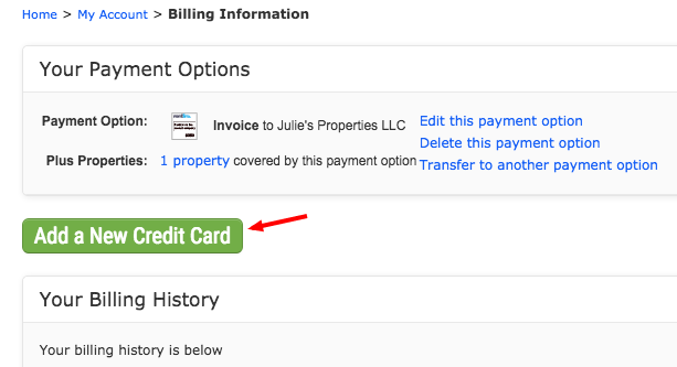 how can i pay my invoices online with a credit card rentlinx