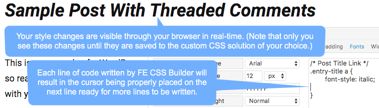 How To Use FE CSS Builder - Cobalt Apps Docs