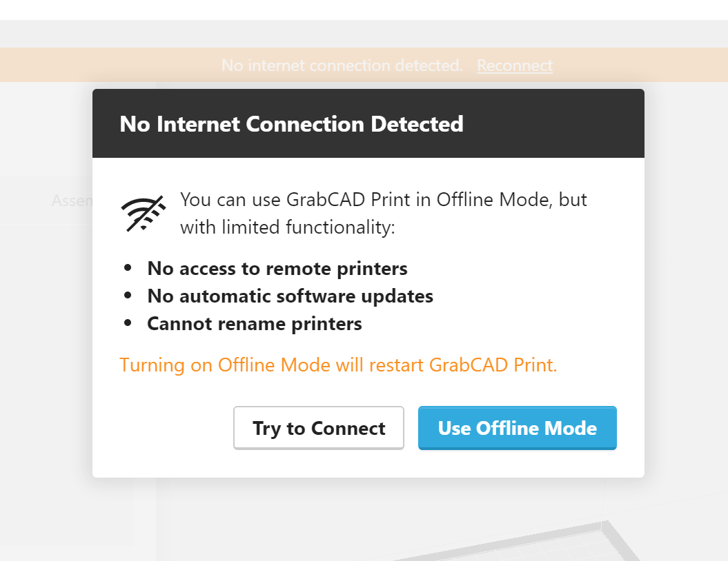 Offline printing and exporting jobs - GrabCAD Help Center