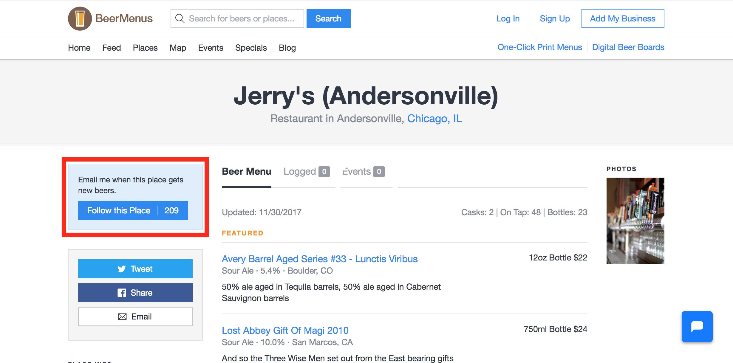 Updating Your Menu to Bring In Followers - BeerMenus Help Center